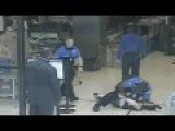 Surveillance Cam Shows Shocking TSA Takedown Of Cancer Patient