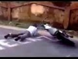 Stupid Indian Bike Stunt Gone Wrong