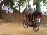 SWING RIDE WITH BIKE