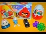Stop Motion - Magic Kinder Surprise Eggs Unboxing Angry Birds Disney Eggs Animation
