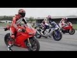 Superbike Drag Race - BMW Vs Ducati Vs Yamaha