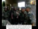 Syrian Army Officer Instructions To His Troops
