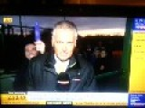 Sky Sports Reporter Gets A Well Rounded Surprise