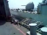 See What Pakistan Naval Ship Babur Did To An Indian Navy Ship