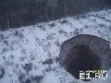 Sinkhole In Solikamsk Russia
