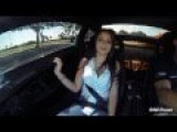 Sexy Girl's Reaction In 1000hp Twin Turbo Lamborghini Superleggera HD