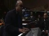 STEVIE WONDER Be Telling A Funny Joke At A FUNERAL!?!