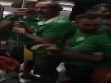 Soccer Fans Sing Lullabies To Baby
