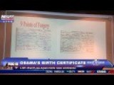 Sheriff Joe Arpaio: President Obama's Birth Certificate FOX 66 Min