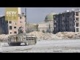 Syrian Army Halts Offensive To Let Civilians Leave Moderate Rebel City