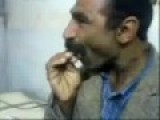 Stoned Iranian Man Eating Ice Cream