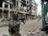 SYRIAN ARMY NEARS CLOSING DOWN HOMS MERCENARIES
