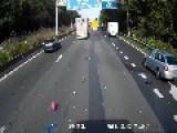 Scary Crash In Belgium