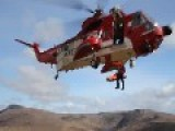 Sikorsky S-61 Rescue Helicopter Up Close - Donegal Mountain Rescue Team, Ireland