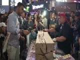 Street Gambling: Hammering Nail Challenge!