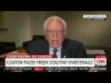 Sanders: Hillary Clinton's Private Email Server Is 'a Very Serious Issue'