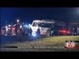 SCHOOL BUS CRASH IN MURRAY COUNTY,OKLA,SEPTEMBER 2014