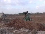 Syrian Sunni Arab Citizen Tank Hunters Pick Off A Fast Moving Assad Regime BMP, With BGM-71 ATGM's Oct 18th, '14