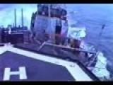 Soviet Warship Rams U.S. Navy Destroyer Near Crimea During Cold War