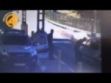 Security Personal Manage To Stop Palestinian Car Bomb Driver At A Checkpoint
