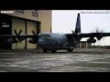SPECIAL DELIVERY ! C-130 Delivers SECRET CARGO At US Airbase