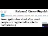 SR 1230 – Virginia College Student Caught Registering Dead Voters