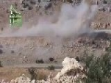 Syria - Al Nusra Double IED Attack Vs Truck 21 08