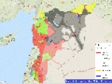 Syrian Civil War Map: Most Active Front Lines