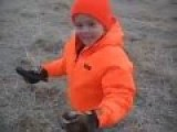 So What Do You Think Of This Little Girl Shooting Her First Buck