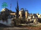 Syrian Sunni Arab Citizen Soldiers Launch Rockets Against Assad Crime Dynasty Loyalists: Damascus