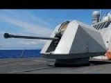 Swedish Navy 57mm Naval Gun Sends Deadly Message