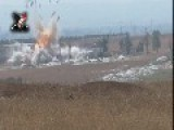 Syria - NDF-SAA Footage In Hamah 21 08 -2 VIDEOS-