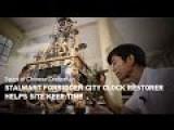 Stalwart Forbidden City Clock Restorer Helps Site Keep Time