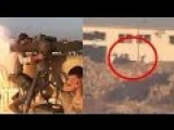 Syria War 2014 : Syrian Army Eliminate Tank With Tow Missile