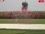 Small Airplane Crash In Serbia