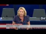 State Of European Union: Ulrike Tresebesius Attacks To Juncker's Speech