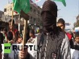 State Of Palestine: Men Brandish AXES To Celebrate Synagogue Attack