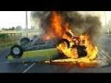 Stolen Car Burns In Christchurch After Crash