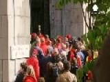 Striking Prison Wardens Burst Into Belgian Justice Ministry Building
