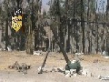 Syria - AOI Hits SAA Sniper Position With Mortar Shell 14 10