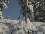 Skier Loses Pants