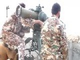 Syria - Terrorists Kills Syrian Soldiers With A Guided Missile