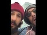 Shia Labeouf Punches Mustache Man