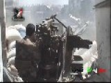 Syria - SAA Armor Units Smashing Jihadist In Jobar - RAW FOOTAGE- 09 10