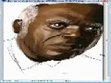 Stephen From D'jango Speed Painting Samuel L Jackson 100black Coffins By Rick Ross