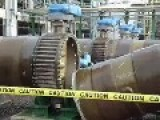 Sea Water Pump Pipe Explosion