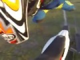 Superman Dirtbike Crash