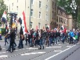 Syria - Frankfurt, Germany Supporting March For Assad - Traditional 1st May Demontration