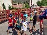 Spaniards Swap Balls For Bulls