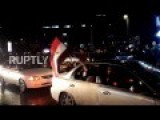 Syria: Streets Of Aleppo Packed As Residents Rejoice In City's Liberation
